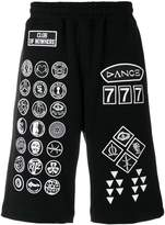 Kokon To Zai Scout patch print track shorts