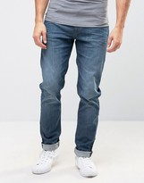 Lee Arvin Slim Taper Jean Dark Emerald Wash