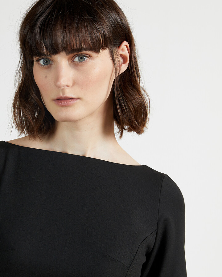 Thumbnail for your product : Ted Baker ROMOLAA Peplum Detail Short Sleeve Dress