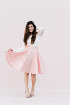 Shabby Apple Celeste Skirt Pink