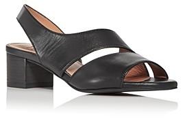 Aquatalia Women's Emory Slingback Block-Heel Sandals