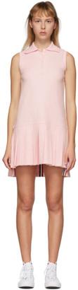 Thom Browne Pink Sleeveless Tennis Dress