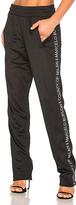 Marcelo Burlon County of Milan Riba Pants in Black. - size M (also in S,XS)