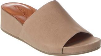 Gentle Souls Gisele Leather Wedge Sandal