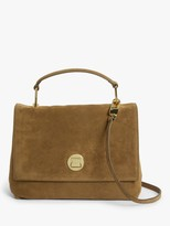 Coccinelle Liya Iconic Suede Shoulder Bag