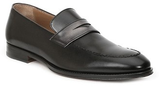 Bruno Magli Fanetta Leather Penny Loafers