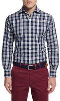 Peter Millar Teton Plaid Oxford Shirt