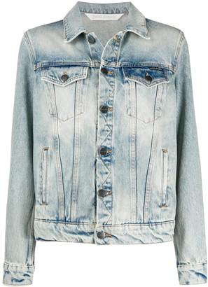 Palm Angels Stonewashed Denim Jacket