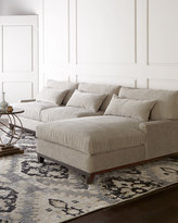 Horchow Rena Right-Facing Sectional Sofa
