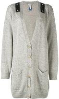 Loewe shoulder strap cardigan - women - Linen/Flax - XS