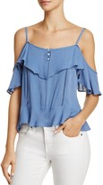 Ppla Noam Cold-Shoulder Top
