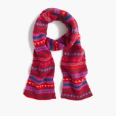 J.Crew Wool scarf in Fair Isle