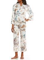 N by Natori Imperial Dragon Satin Pajamas