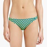 J.Crew Graphic dot hipster bikini bottom