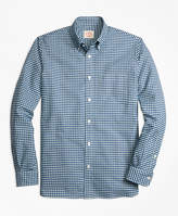 Brooks Brothers Checkered Oxford Sport Shirt