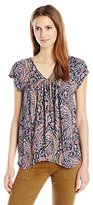 Lucky Brand Women's Paisely Top