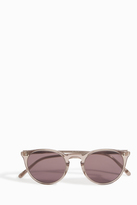 The Row O'Malley Nyc Colour Lens Sunglasses
