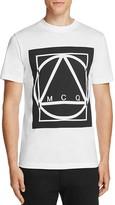 McQ by Alexander McQueen Geometric Logo Graphic Tee
