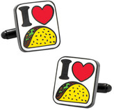 Cufflinks Inc. Men's I Love Tacos Cufflinks