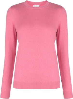 Brunello Cucinelli Boxy Fit Cashmere Jumper