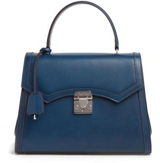 Mark Cross Madeline Lady Leather Top Handle Bag