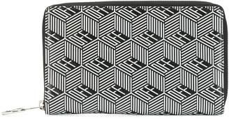 Off-White monogram printed wallet
