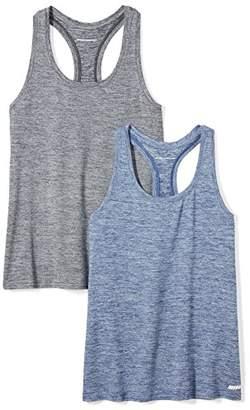 Amazon Essentials 2-pack Tech Stretch Racerback Tank Top T-Shirt,XL