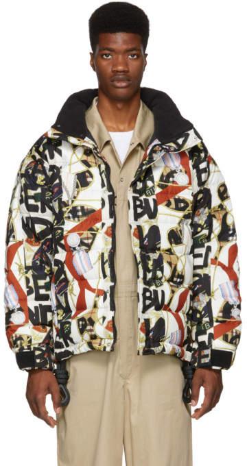 Burberry Multicolor Tissington Down Puffer Jacket