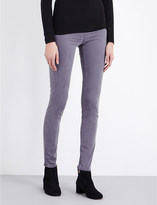 J Brand 485 Luxe Sateen super-skinny mid-rise jeans