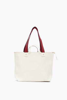 Clare Vivier White Le Zip Sac Bag