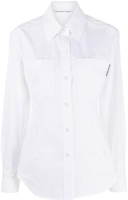 Alexander Wang Poplin Tailored Shirt