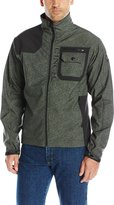Cinch Men's Printed Contrast Bonded Softshell Jacket