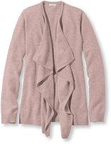L.L. Bean Classic Cashmere Sweater, Open Cardigan