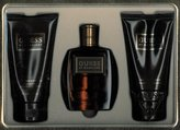 GUESS Marciano Gift Set 3 Pieces [3.4 Fl.oz. (100 ml) Eau De Toilette Spray + 5 oz. (150 ml) Body Wash + 5 oz. (150 ml) After Shave Balm] Men By Parlux
