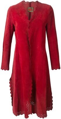 Roberta Di Camerino Pre-Owned scalloped hem coat