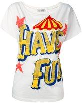 Faith Connexion 'Have Fun' T-shirt - women - Cotton - XS