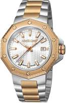 Roberto Cavalli Men's RV1G038M0096 Dial with Two-Toned Stainless-Steel Band Watch.