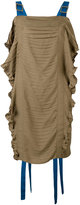 Marco De Vincenzo ruched dress - women - Polyester - 40