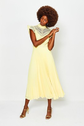 Karen Millen Chemical Lace Midi Dress
