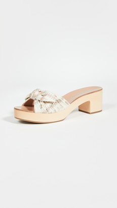 Loeffler Randall Regina Clog Slide Sandals