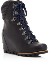 Sorel Conquest Lace Up Wedge Booties - 100% Bloomingdale's Exclusive