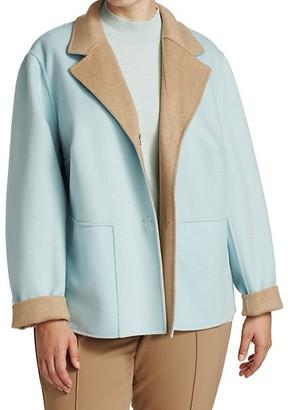 Lafayette 148 New York, Plus Size Reversible Andover Jacket