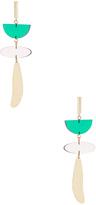 Isabel Marant Brass Drop Earrings