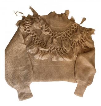 Zimmermann Ecru Silk Knitwear