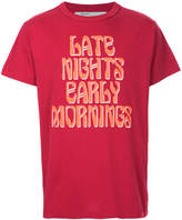 Off-White Art Dad Late Nights Early Mornings T-shirt