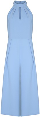 Adrianna Papell Cameron Woven Cropped Jumpsuit
