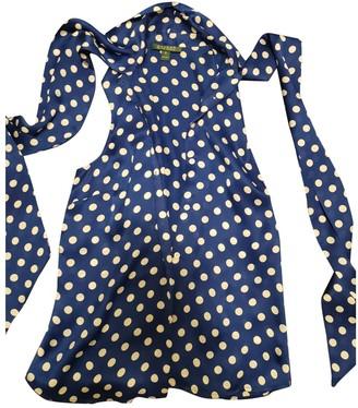 Lauren Ralph Lauren Blue Silk Top for Women