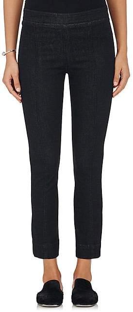 Helmut Lang WOMEN'S DENIM CROP FLARED PANTS