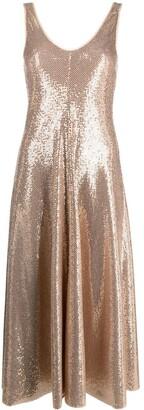 Forte Forte Sequin-Embellished Midi Dress