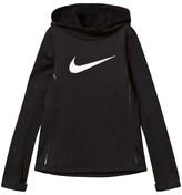 Nike Black Pullover Pro Hyperwarm Hoodie